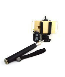 Mobilegear Selfie Stick With Bluetooth Shutter - Android and iOS Phones