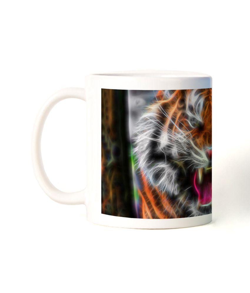 Bluegape Ray Creatives Tiger Mug
