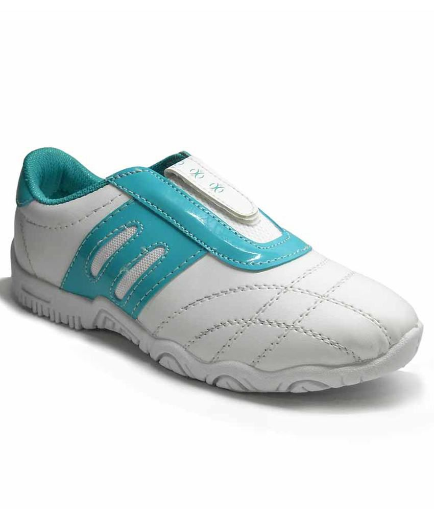 fast trax white and sky blue ladies sports shoes price in