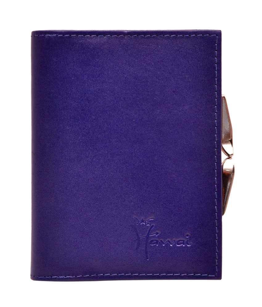 Hawai Multi Access Purple Clutch Wallet For Women