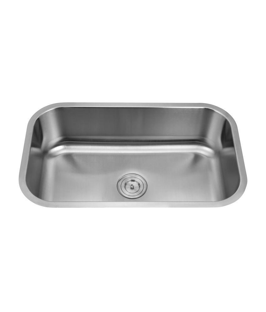 Buy Silver Line Undermount Stainless Steel Kitchen Sink