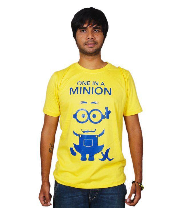 Whozhigh One In A Minion T-shirt