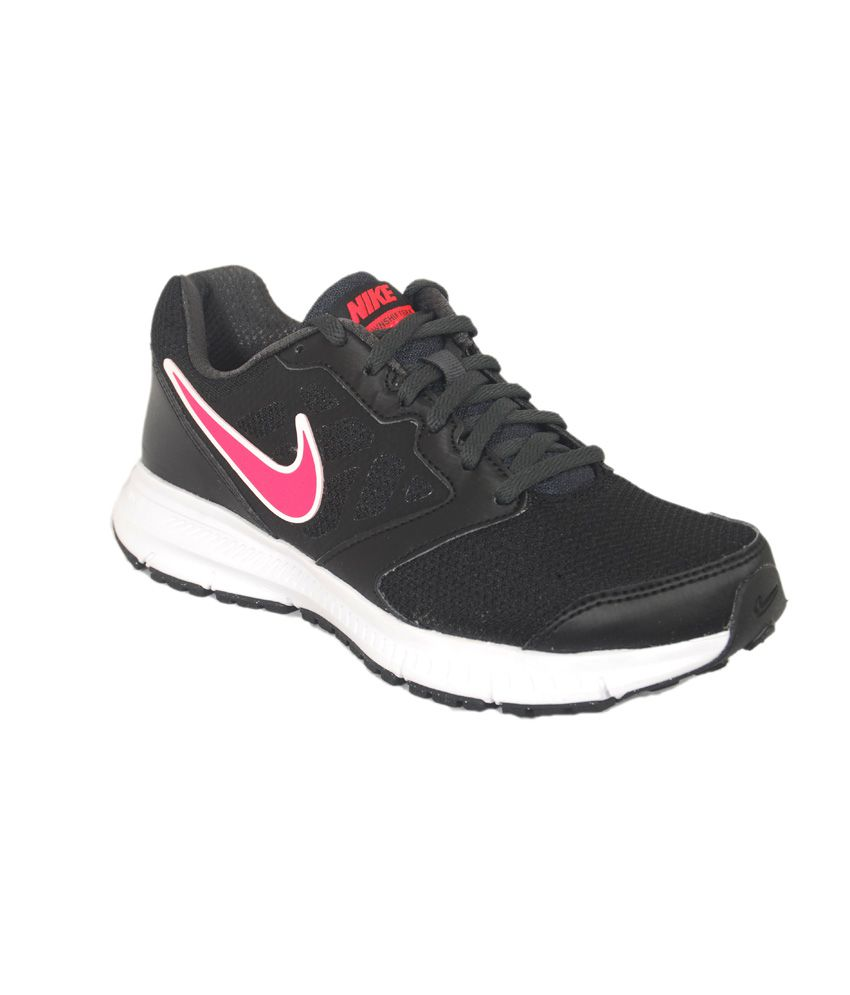Nike Downshifter 6 Msl Black Running Shoes ...
