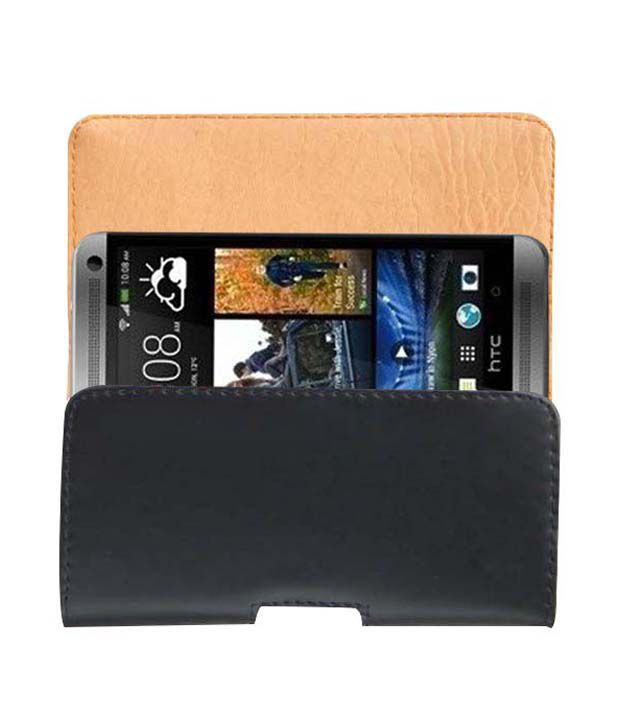 huge selection of 56286 e7168 ACM BELT CASE for HTC ONE DUAL SIM MOBILE LEATHER CARRY CASE POUCH COVER  HOLDER NEW