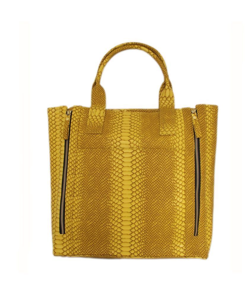 Loto Gris Yellow Tote Bag