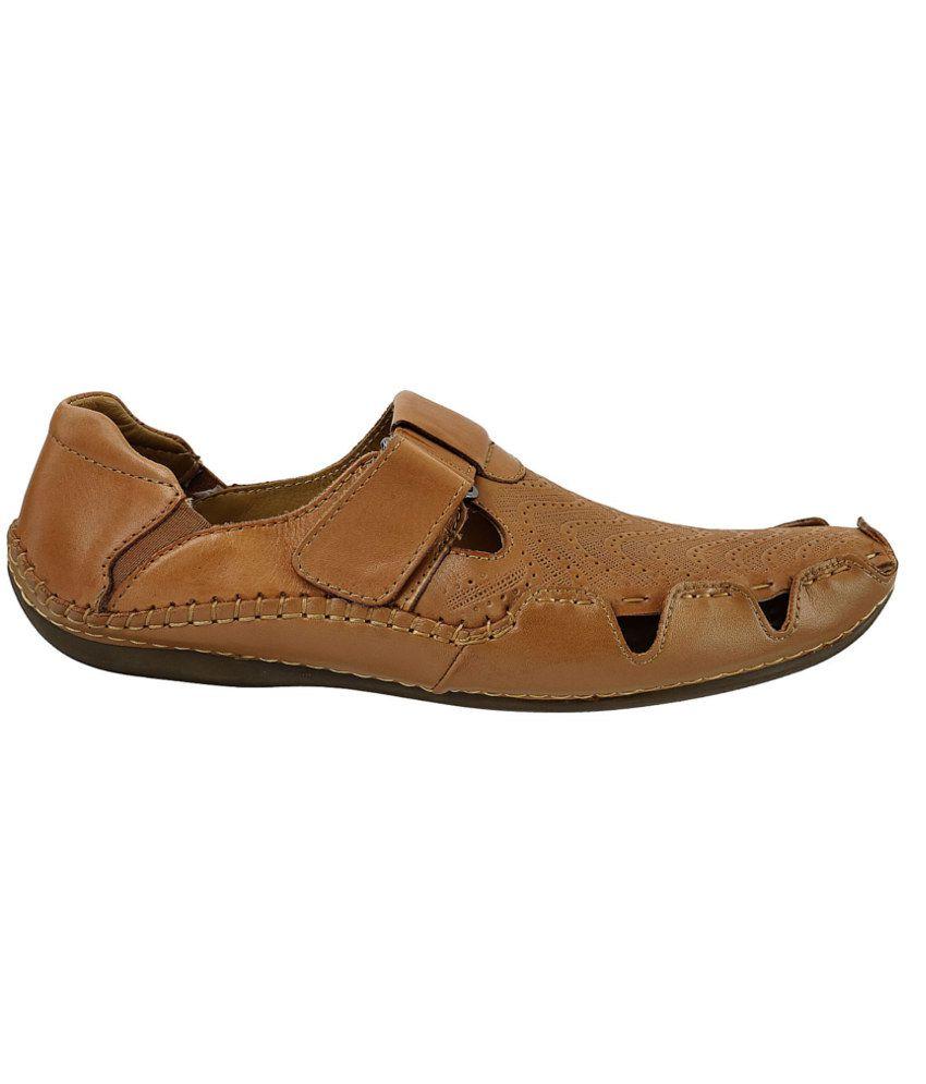 a5f3ff4d7eb Mochi J Fontini Tan Sandals Price in India- Buy Mochi J Fontini Tan ...