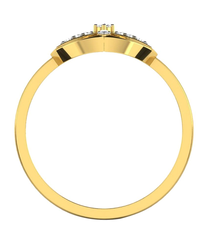 Sparkles 18kt Amazing Gold Ring