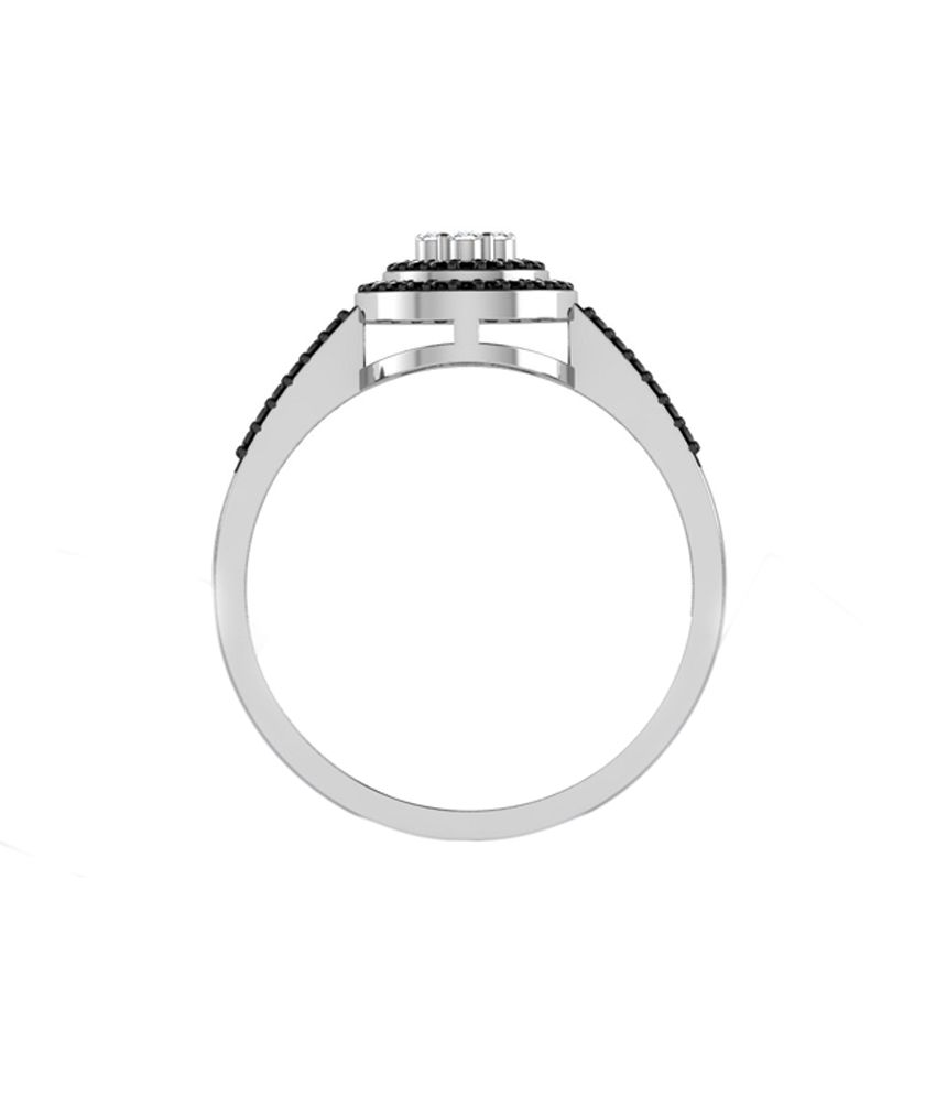 Sparkles 18kt Gold Glittery Ring