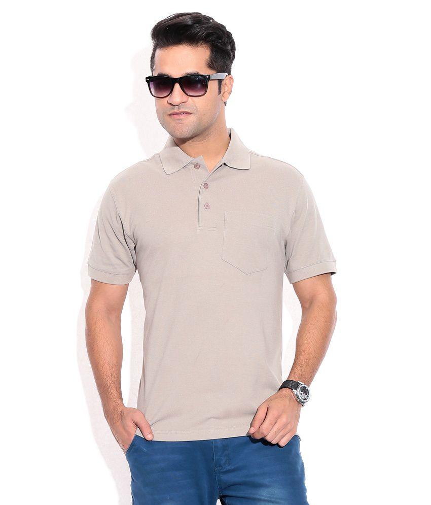 Wilkins & Tuscany 10259 Stylish Grey Men T Shirt