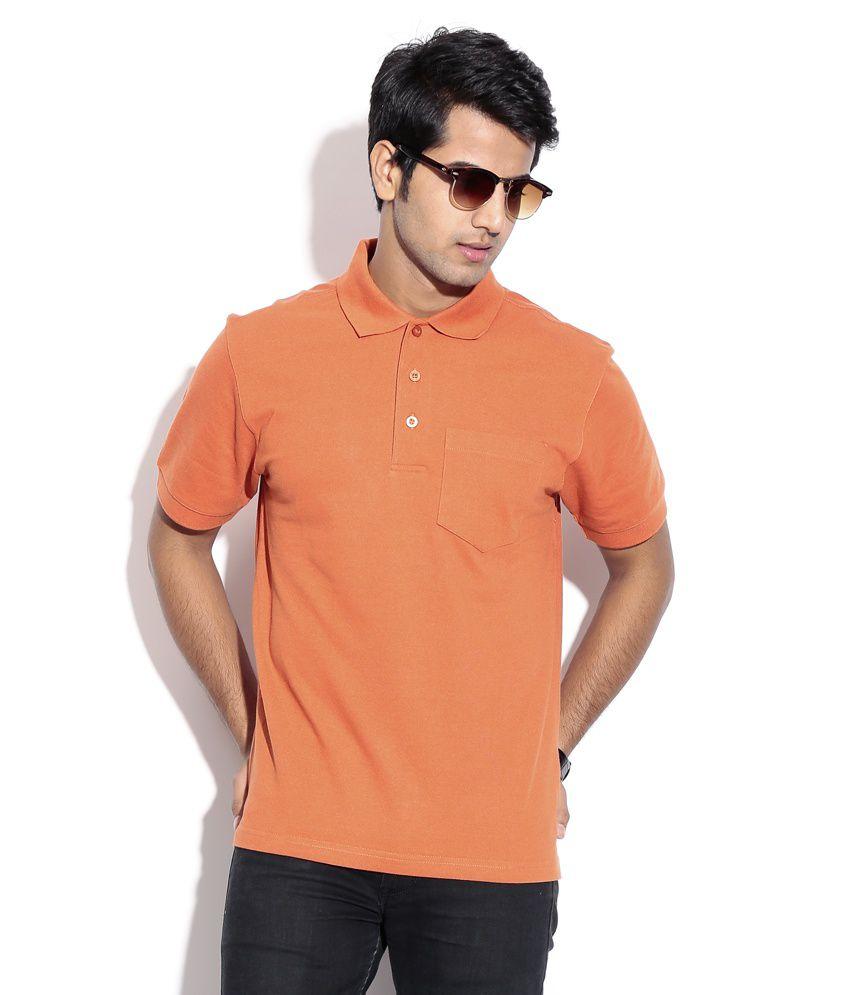 Wilkins & Tuscany 10259 Stylish Rust Men T Shirt