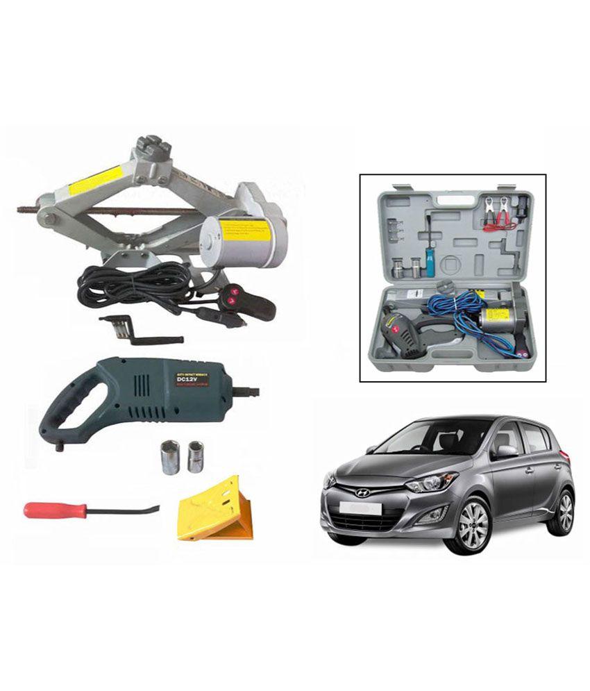 Design of car jack - Speedwav 2 In 1 Electronic Automatic Car Jack Wrench Hyundai I20