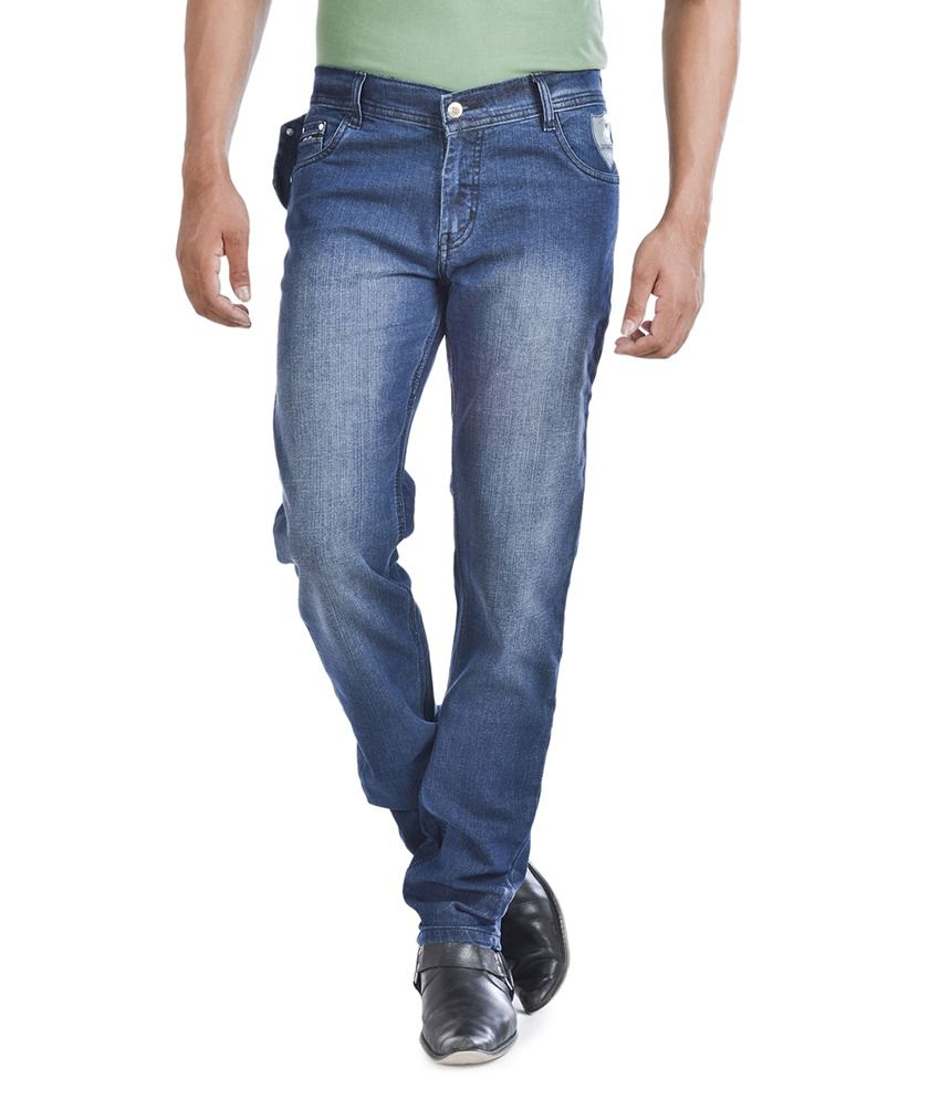 Wintage Blue Slim Fit Jeans