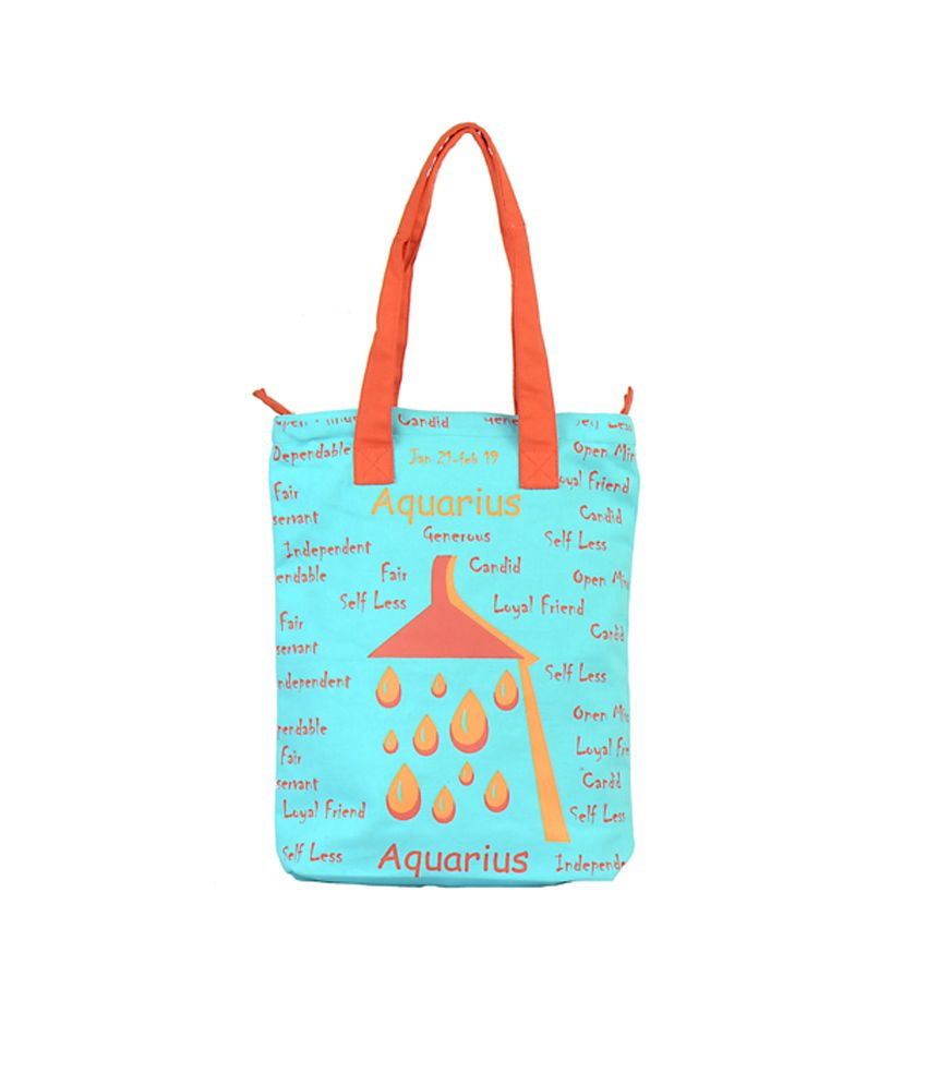 Greenobag Blue Canvas Cloth Tote Bags
