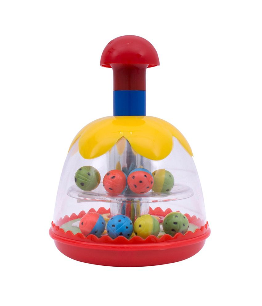 Anand Toys Speedy Spinner-push-n-go Toy kids educational ...