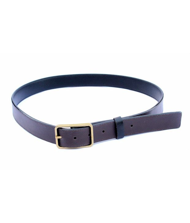 Imp Black Non Leather Pin Buckle Reversible Belt