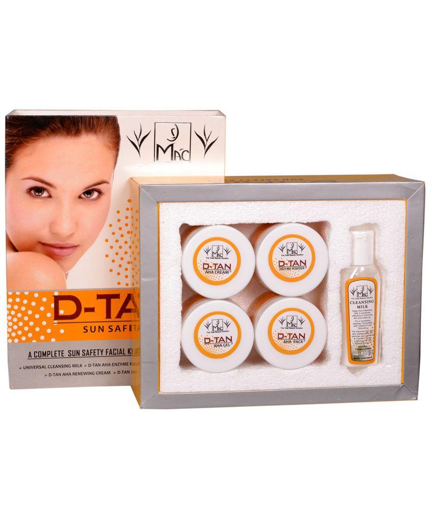 Mac Professional Beauty D-tan Sun Safety Facial Kit: Buy ...