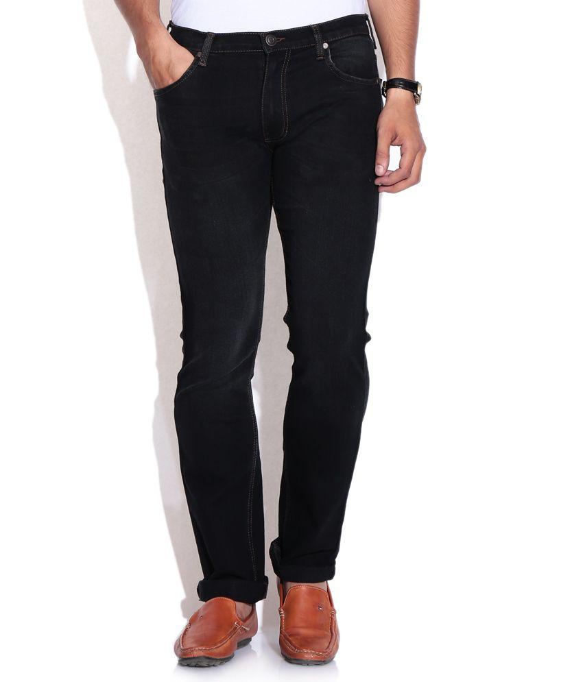 Newport Black Slim Jeans