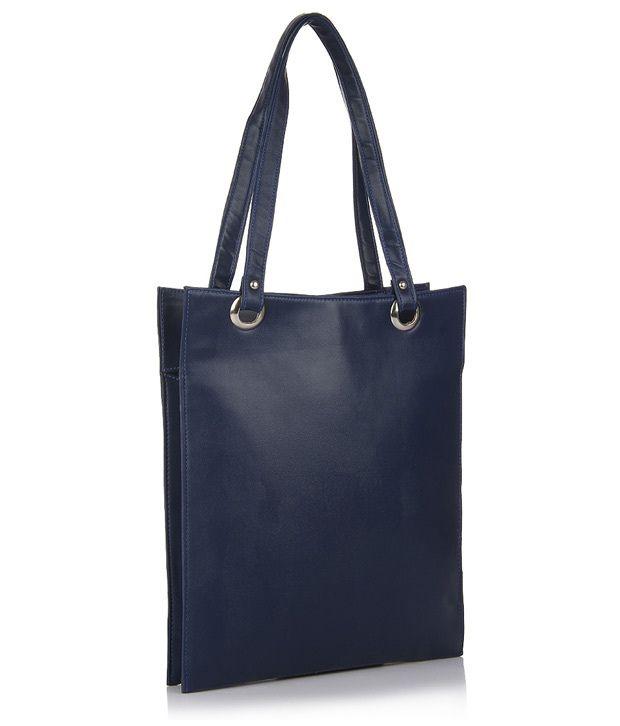 Utsukushii Blue Hand Bag