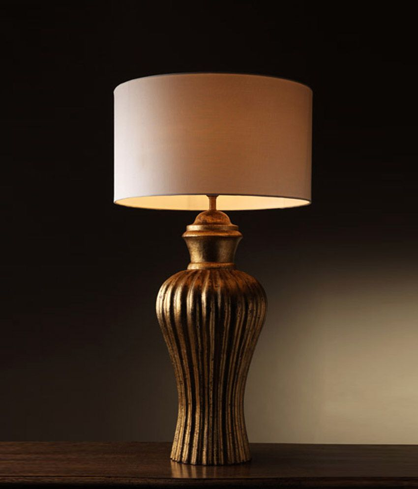 Foyer gold wooden table lamp buy foyer gold wooden table - Table vitroceramique 3 foyers ...