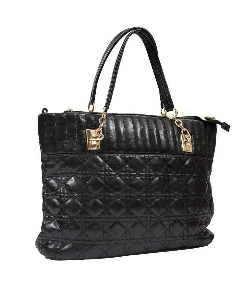 Kupiddo Black Tote Bags