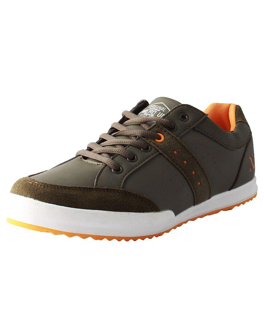 Numero Uno Green Sneaker Shoes
