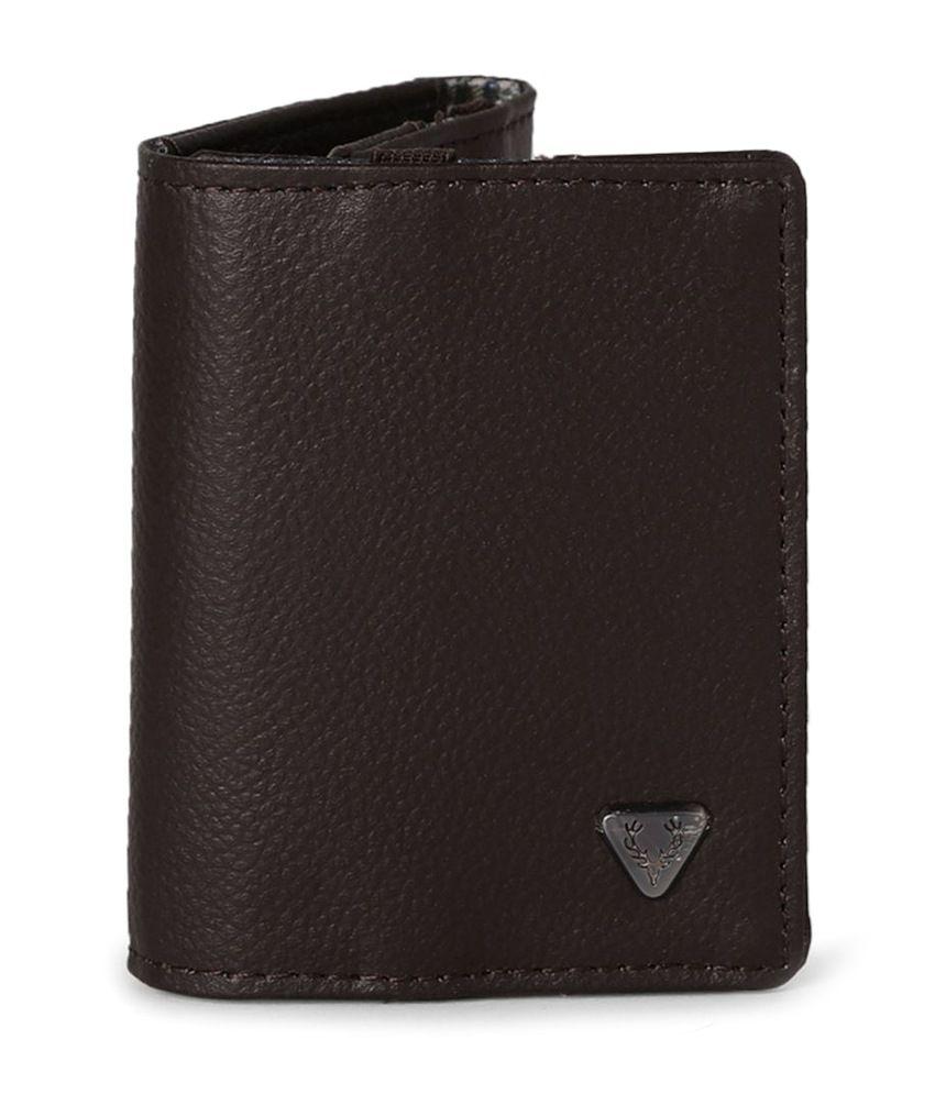 ee9c68fc4748 Allen Solly Black Men Regular Wallet  Buy Online at Low Price in India -  Snapdeal