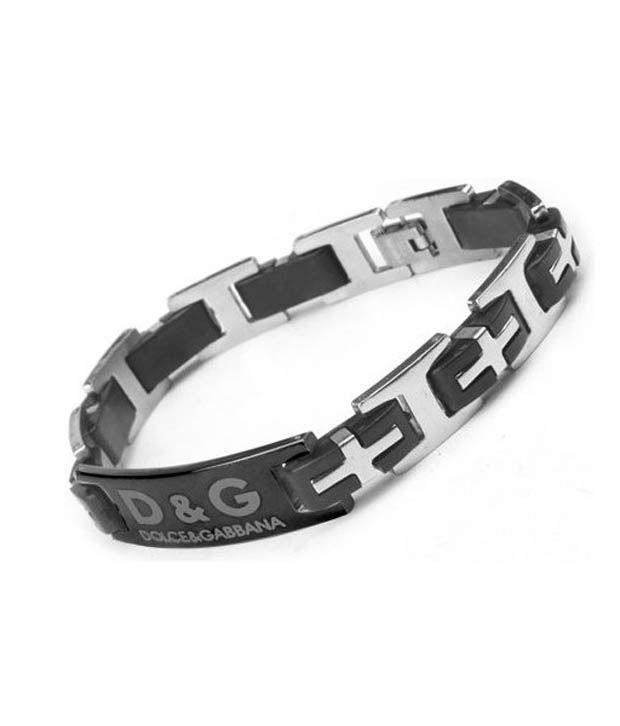Amyra Lifestyle Black D&g Designer Bracelet