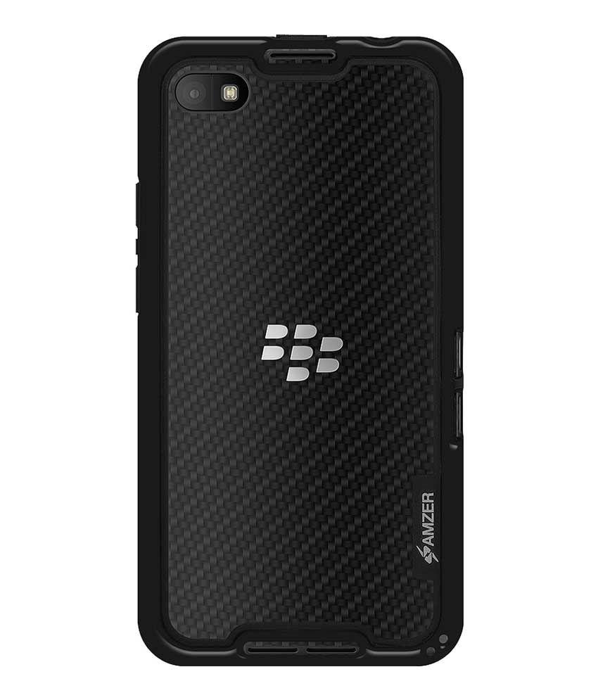 timeless design 22734 622e9 Amzer Border Case Black for BlackBerry Z30