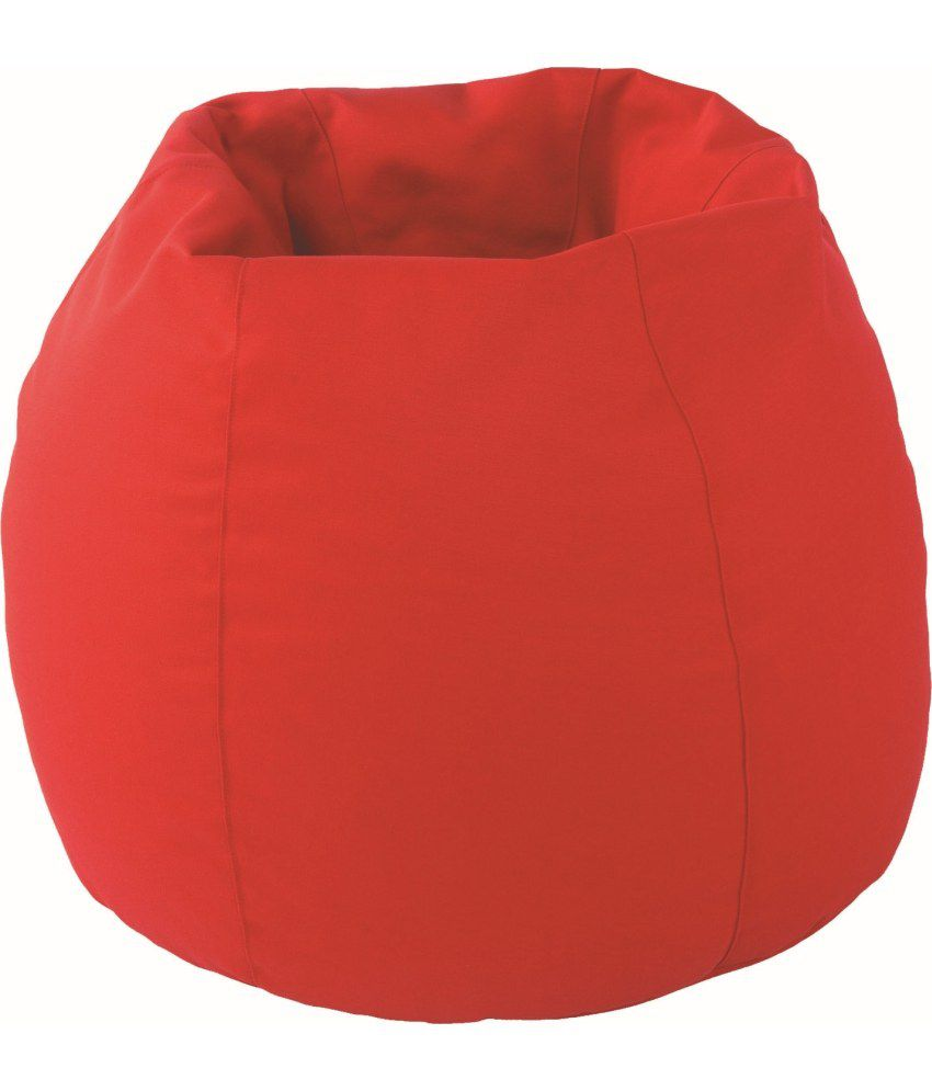 Dolphin Xl Bean Bag Red Cotton With Fillers Beans