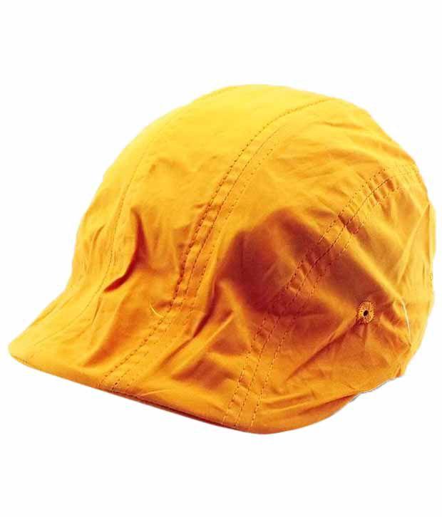 Jstarmart Yellow Football Cap Men