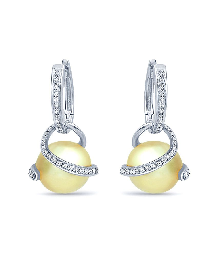 Navvya 92.5 Sterling Silver Earrings