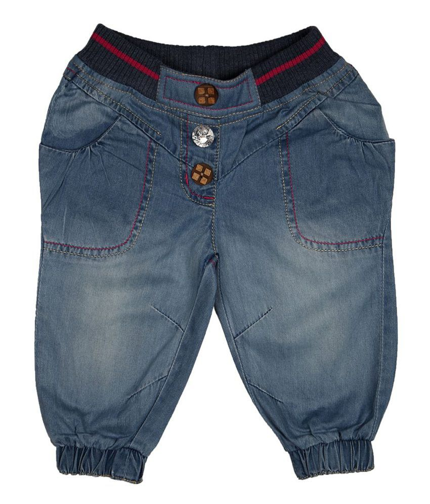 People Blue Shorts For Girls