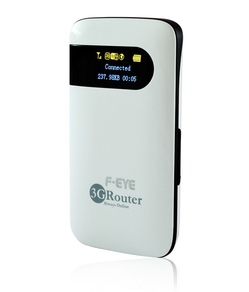 Ps Feye Wireless 150 Mbps Unlocked 2G, 3G Portable Wi-Fi Router With Sim Card Slot