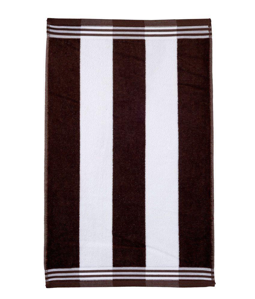 Sassoon Brown Cotton Hand Towel
