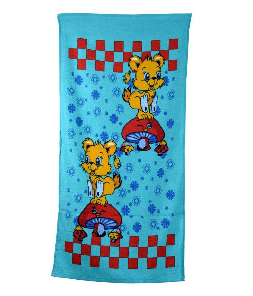 Sassoon Multi-colour Cotton Bath Towel