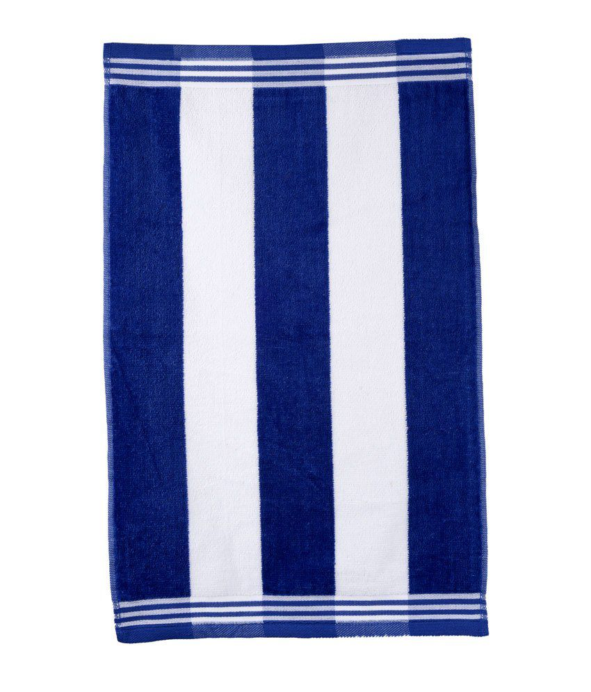 Sassoon Navy Blue Cotton Hand Towel