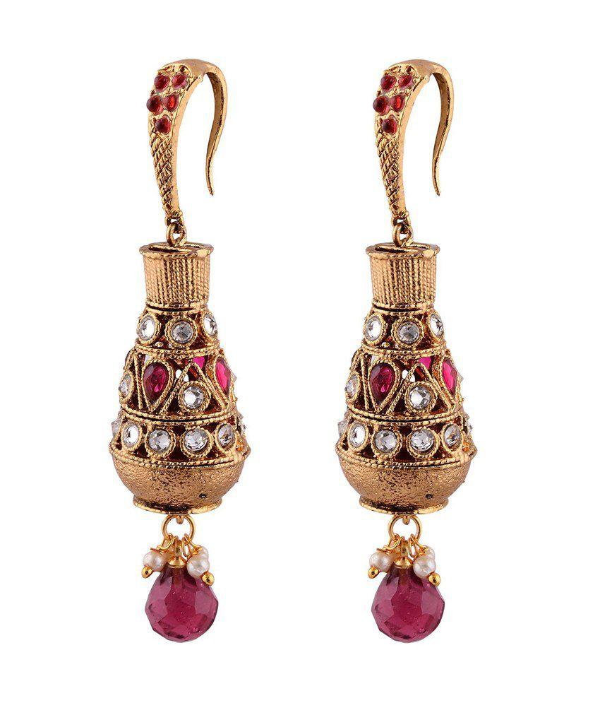 Bhagvathi Antique Dangler Earring