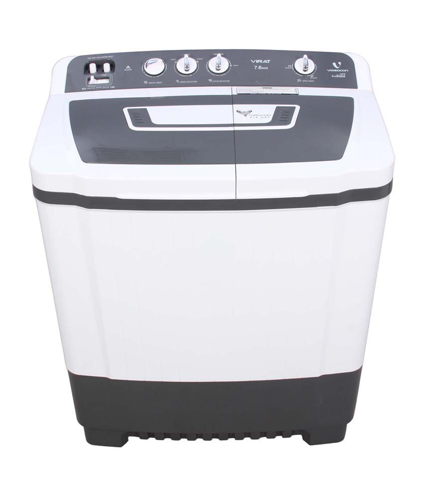 Videocon Virat VS76P13 7.6 Kg  Semi Automatic Washing Machine