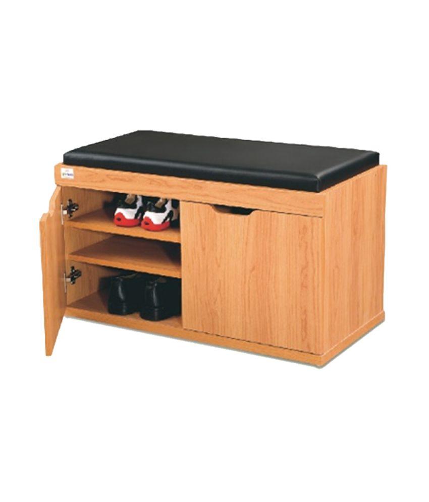 Shoe Cabinet Mfs 202m 2 Door Honey