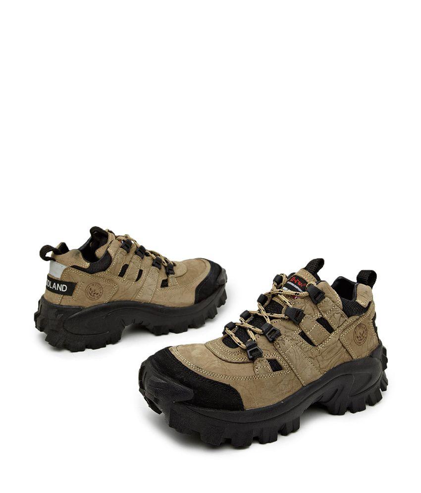 Woodland Brown Outdoor Shoes Art Ag40777khk
