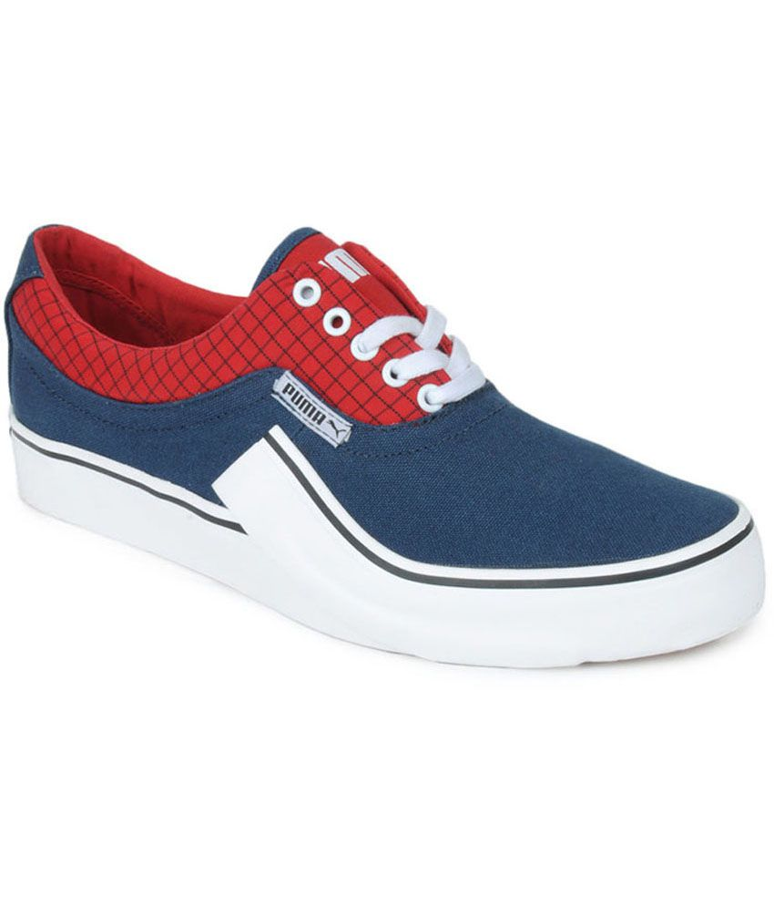 398278d2207a Puma Villian S Men s Sneakers - Blue And Red Colour - 35449808 - Buy Puma  Villian S Men s Sneakers - Blue And Red Colour - 35449808 Online at Best  Prices in ...