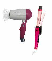 Gemei GM-1709 hair Dryer With 2 in 1 Straightner