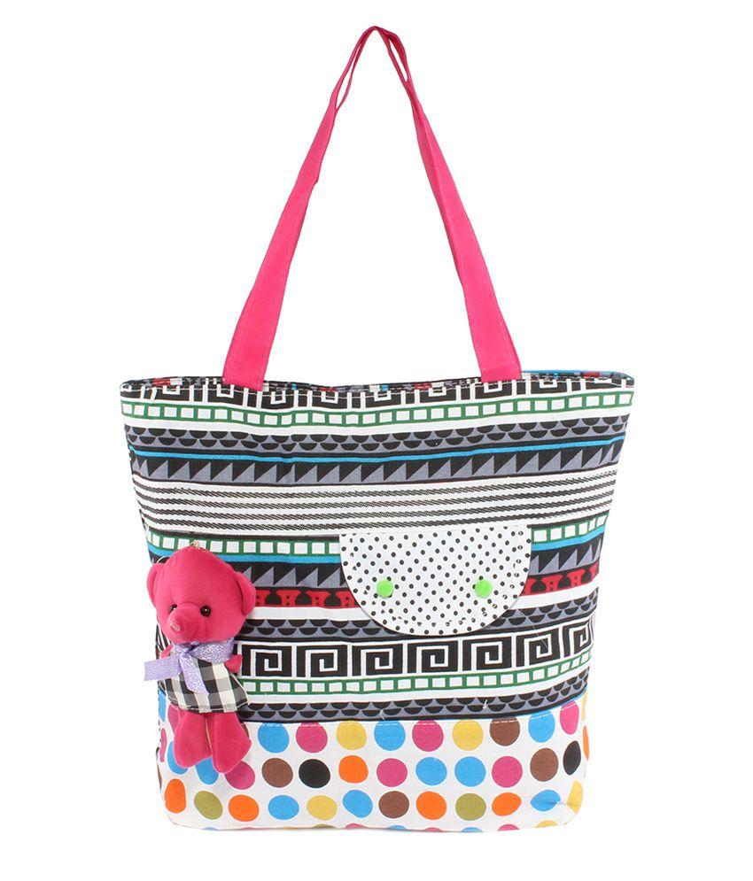 Dernier Cri Mutli Color Cotton Bag