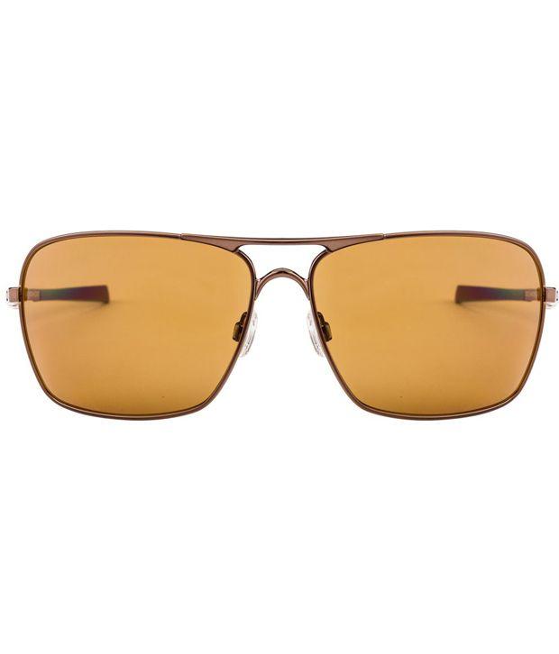 d043465aa9 ... Oakley Oo4063 06 Plaintiff Squared Copper Brown Men S Polarized  Sunglasses ...