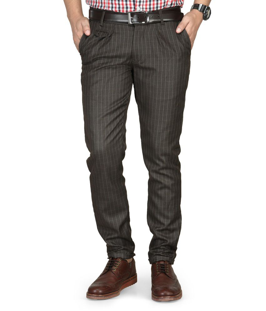 Phoenix Haute Couture Brown Comfort Semi Formals