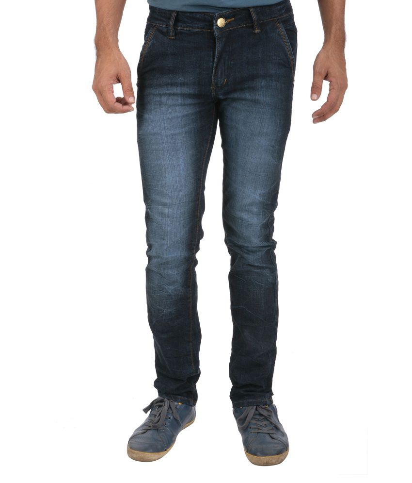 Picador Blue Stylish Back Pocket Jeans - Buy Picador Blue Stylish Back Pocket Jeans Online at ...