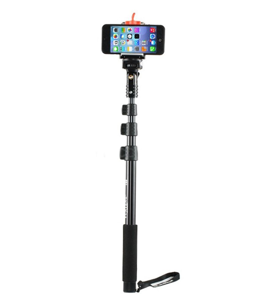 Selfie Pod Sport Camera With Extender Pole