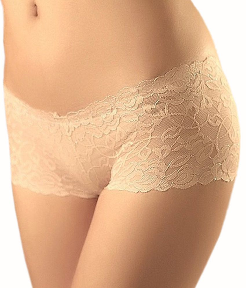 486a99be3bcd Stylish Designer White Transparent Boyshorts Lace Panty Stylish Designer  White Transparent Boyshorts Lace Panty