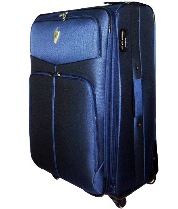 Swiss Polo Trolley Luggage Blue - Buy Swiss Polo Trolley Luggage ... 0e9cfb7418876