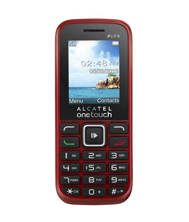 Phone White - Buy Alcatel One Touch 1041D Phone White Online at Best ...